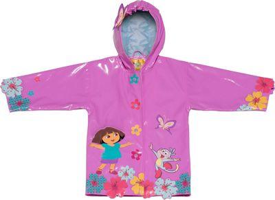 Kidorable Dora All-Weather Raincoat 5/6 - Pink - Kidorable Women's Apparel