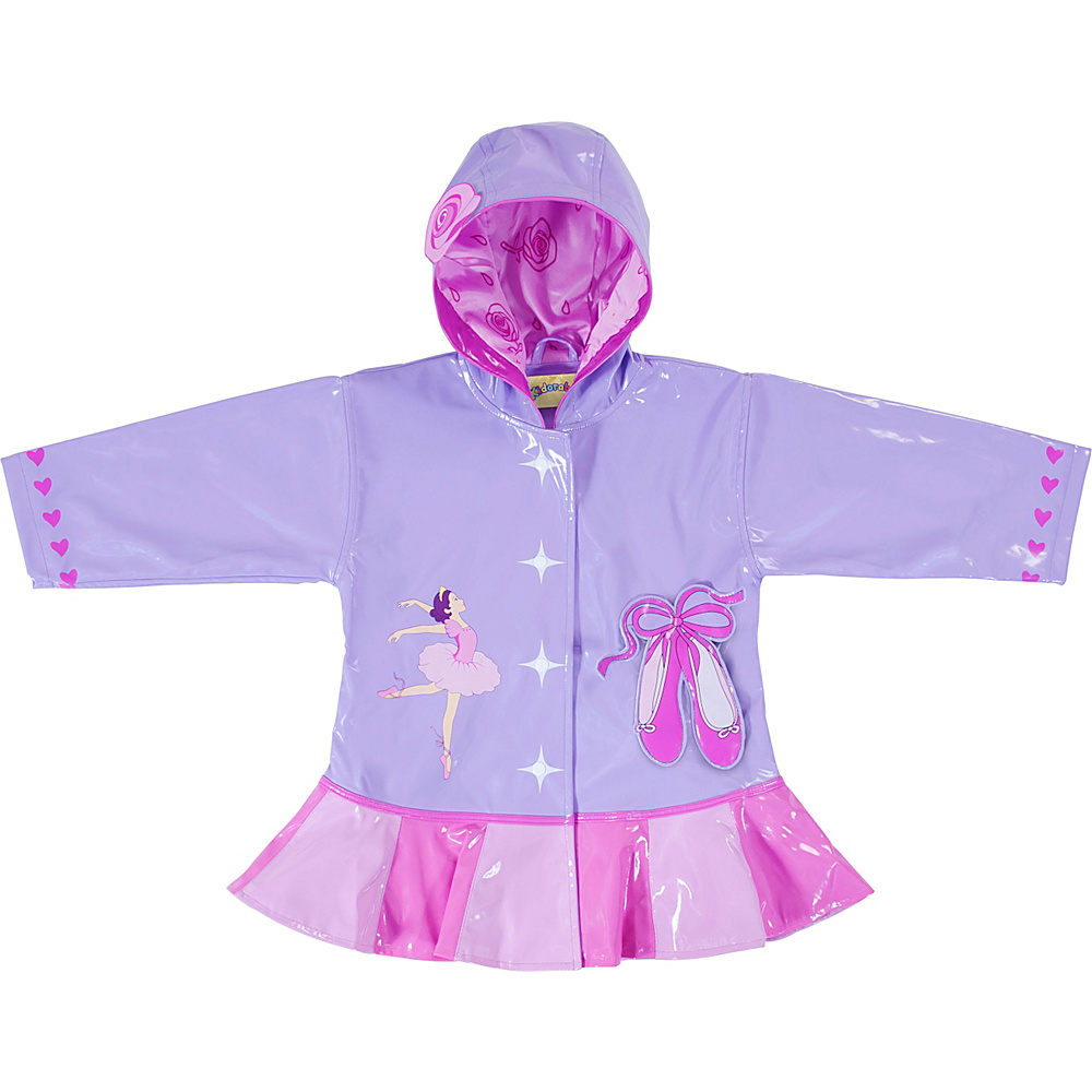 Kidorable Ballerina All-Weather Raincoat 2T - Pink - Kidorable Womens Apparel - Apparel & Footwear, Women's Apparel