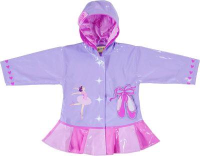 Kidorable Ballerina All-Weather Raincoat 4T - Pink - Kidorable Women's Apparel