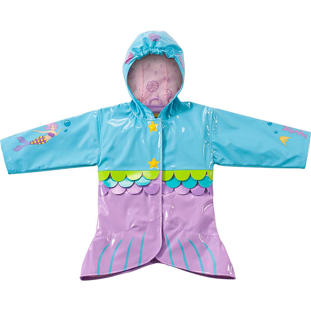 Kidorable Mermaid All-Weather Raincoat 2T - Aqua - Kidorable Womens Apparel - Apparel & Footwear, Women's Apparel