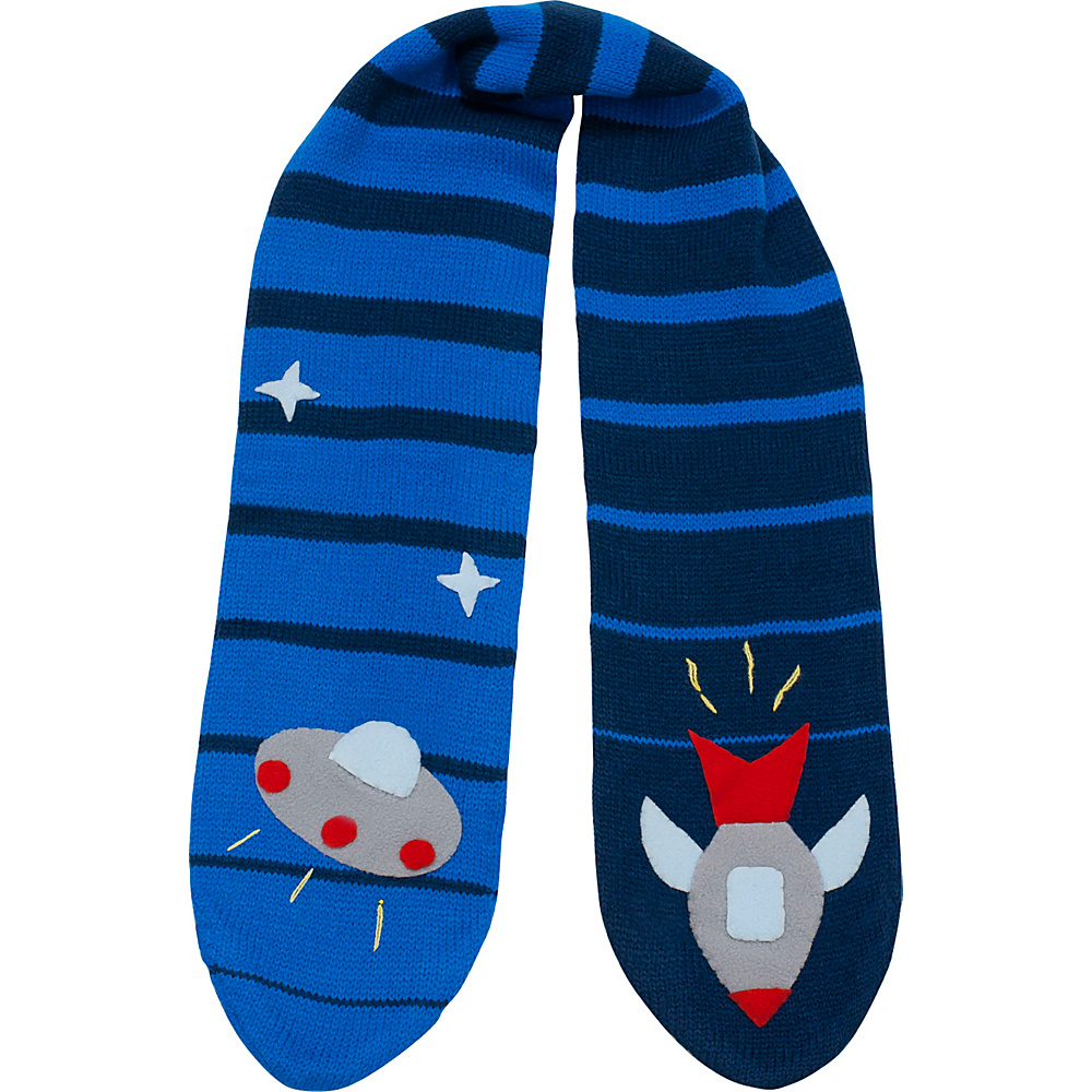 Kidorable Space Hero Scarf Blue - One Size - Kidorable Hats/Gloves/Scarves