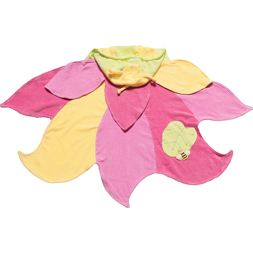 Kidorable Lotus Hooded Towel Yellow - Small - Kidorable Travel Health & Beauty - Travel Accessories, Travel Health & Beauty