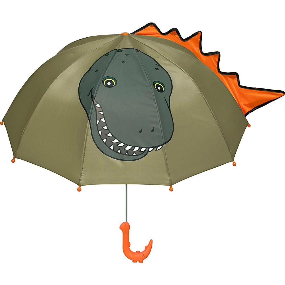 Kidorable Dinosaur Umbrella Green - One Size - Kidorable Umbrellas and Rain Gear - Travel Accessories, Umbrellas and Rain Gear