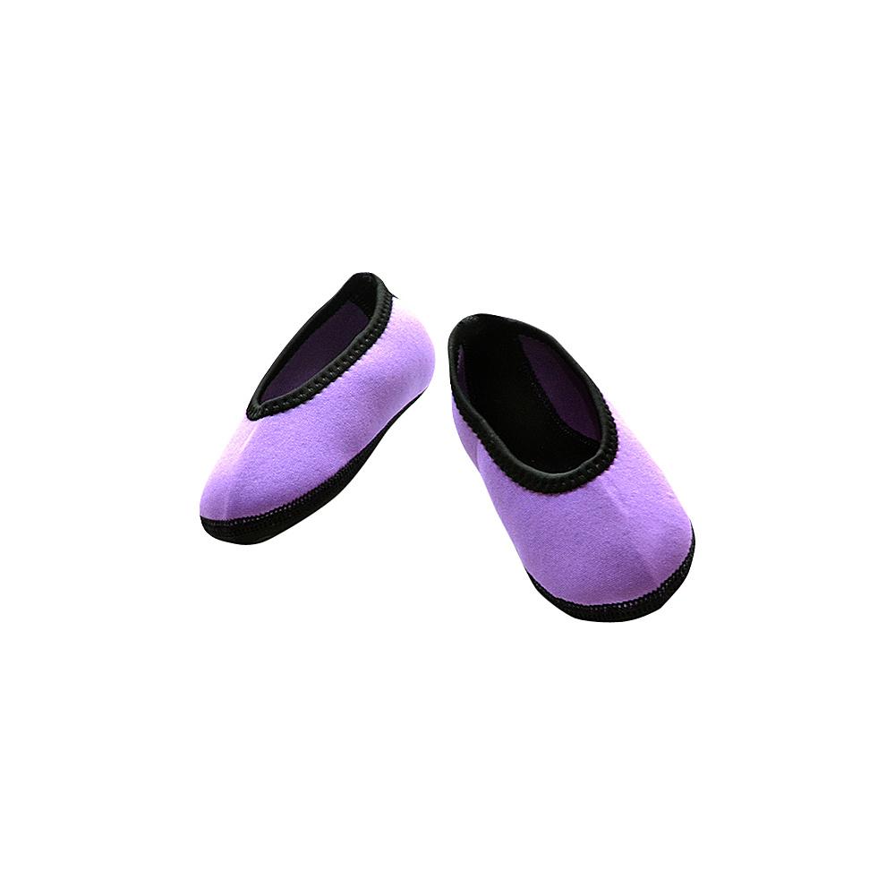 NuFoot Girls Ballet Flat Travel Slippers Purple Toddler NuFoot Women s Footwear