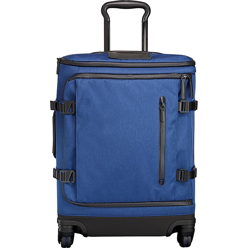 Tumi Tahoe Edgewood Continental Carry On Blue - Tumi Softside Carry-On