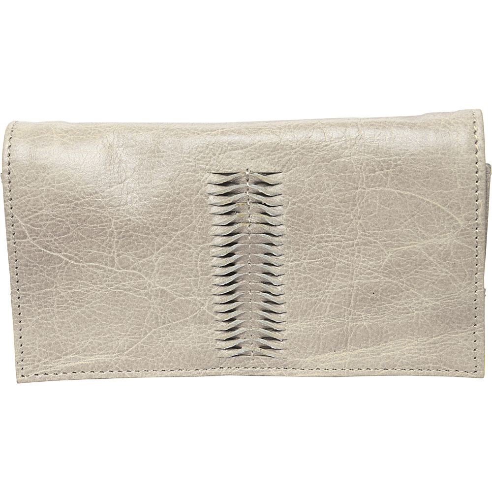 Latico Leathers Cameron Wallet Crackle White - Latico Leathers Womens Wallets - Women's SLG, Women's Wallets