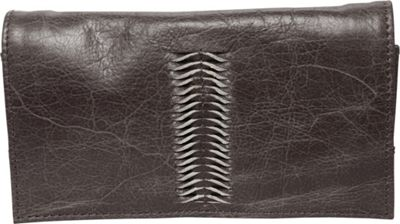 Latico Leathers Cameron Wallet Distressed Brown - Latico ...