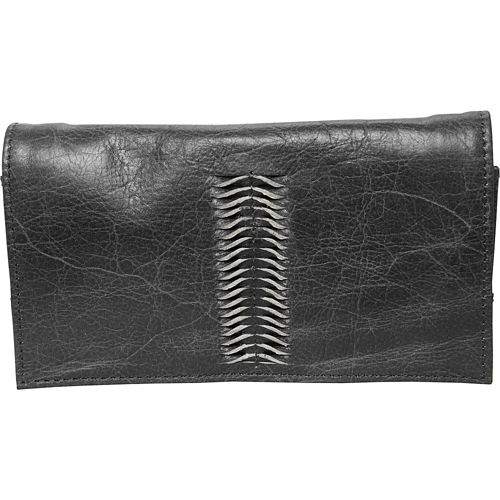 Latico Leathers Cameron Wallet Washed Black - Latico Leathers Womens Wallets - Women's SLG, Women's Wallets