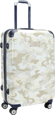 Tommy Hilfiger Luggage East Coast Camo 24 Hardside Upright Spinner White Camo - Tommy Hilfiger Luggage Hardside Checked
