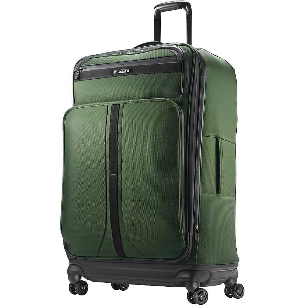"Boyt Mach 1 Softside Spinner 29"" Forest Green - Boyt Large Rolling Luggage"