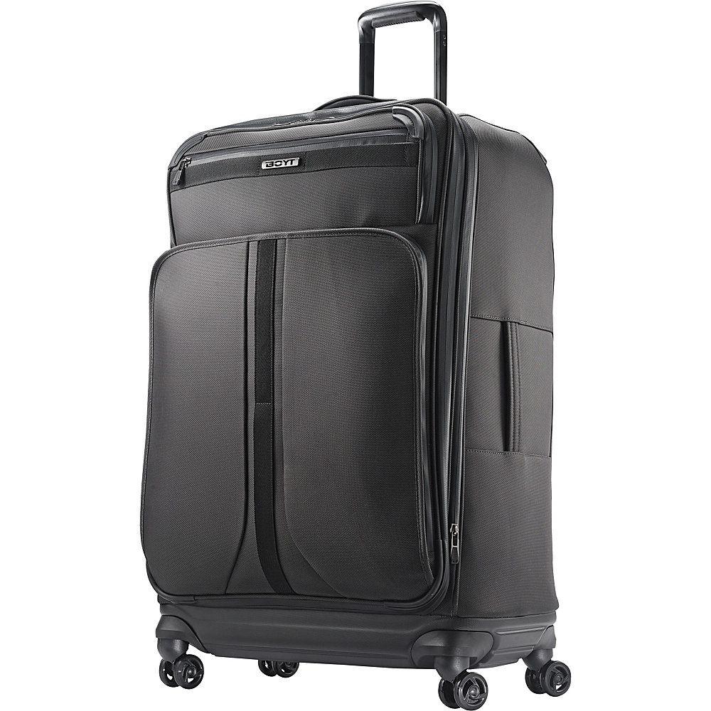 "Boyt Mach 1 Softside Spinner 29"" Steel Grey - Boyt Large Rolling Luggage"