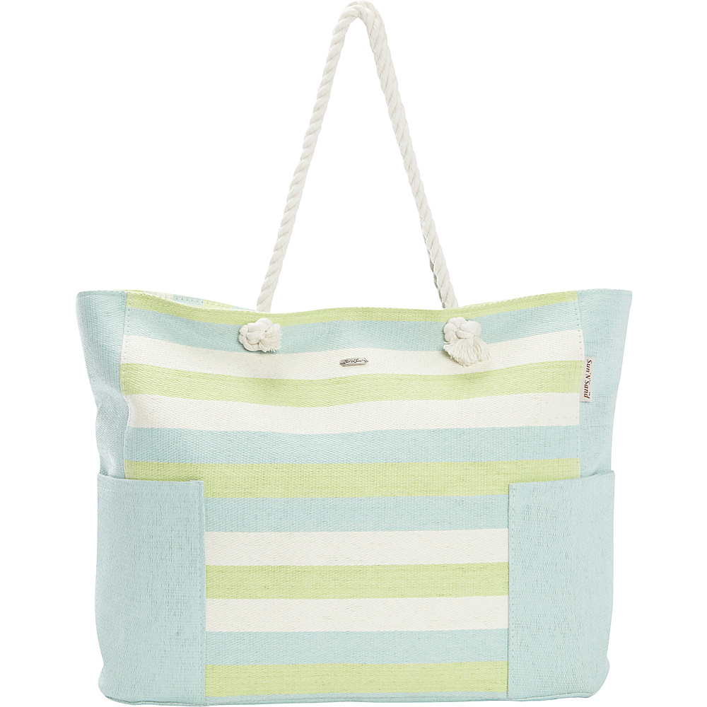 Sun N Sand Canary Tote Mint - Sun N Sand Gym Bags - Sports, Gym Bags
