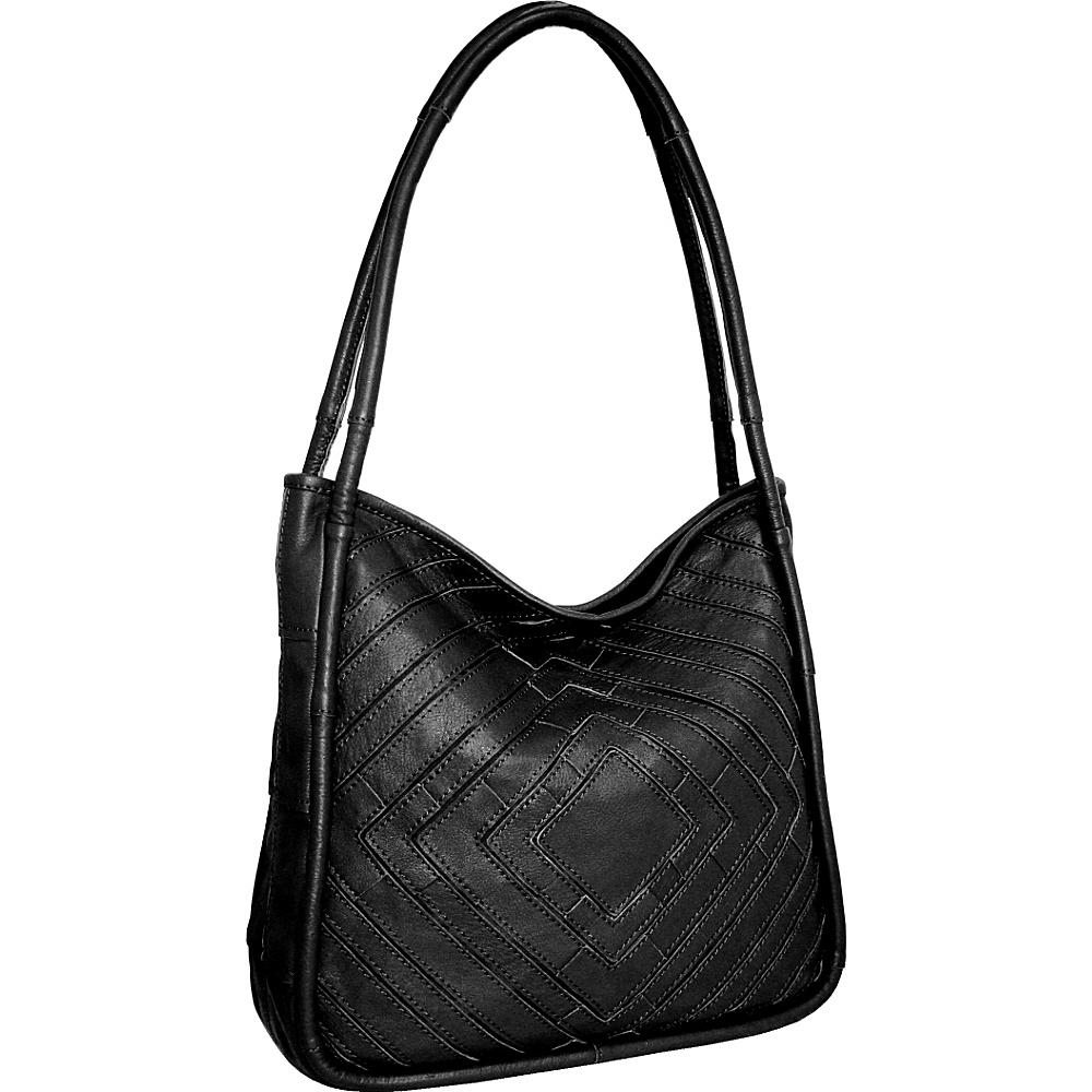 Nino Bossi Mama Mia Shoulder Bag Black - Nino Bossi Leather Handbags - Handbags, Leather Handbags