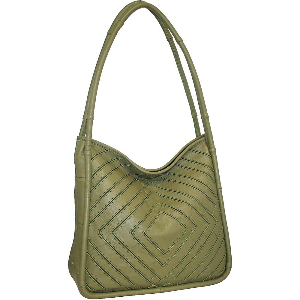 Nino Bossi Mama Mia Shoulder Bag Loden - Nino Bossi Leather Handbags - Handbags, Leather Handbags