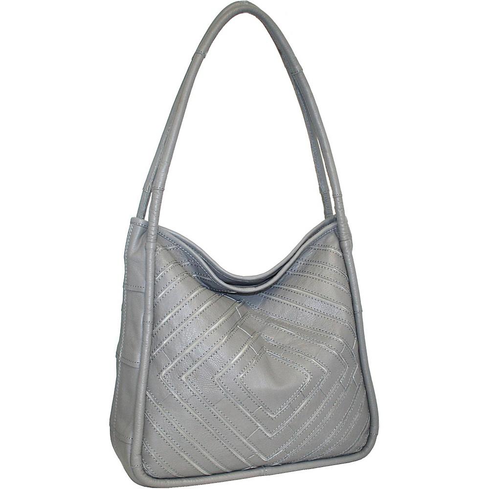 Nino Bossi Mama Mia Shoulder Bag Stone - Nino Bossi Leather Handbags - Handbags, Leather Handbags