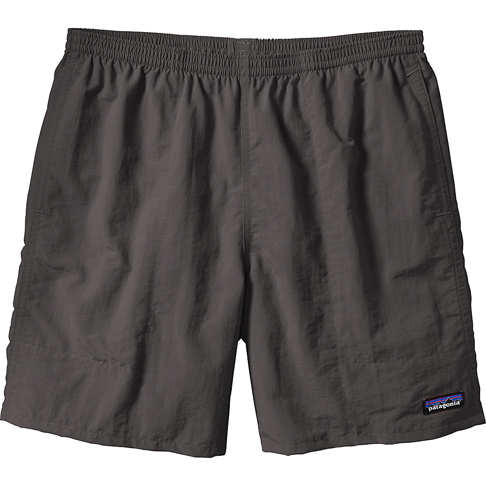 Patagonia Mens Baggies Long Shorts - 7 in S - 7in - Fire - Patagonia Mens Apparel - Apparel & Footwear, Men's Apparel