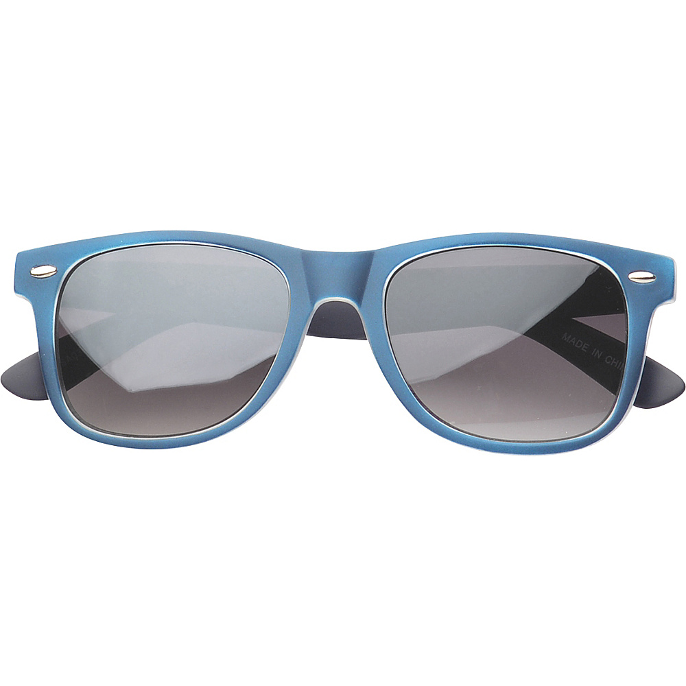 SW Global Eyewear Barton Retro Square Fashion Sunglasses Blue - SW Global Sunglasses - Fashion Accessories, Sunglasses