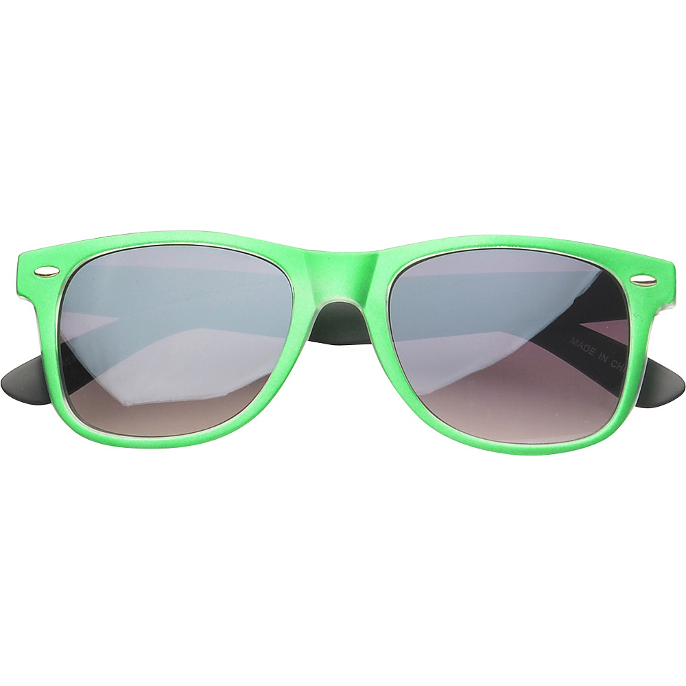 SW Global Eyewear Barton Retro Square Fashion Sunglasses Green - SW Global Sunglasses - Fashion Accessories, Sunglasses