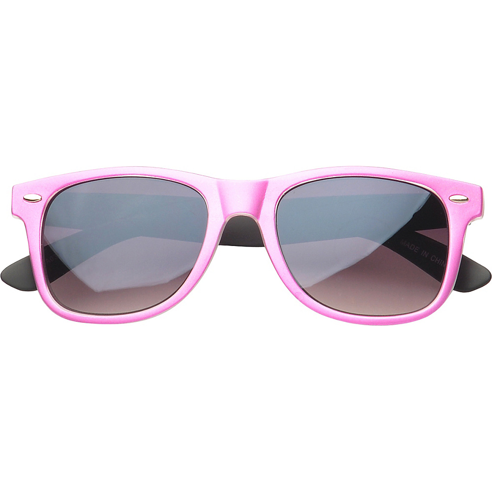 SW Global Eyewear Barton Retro Square Fashion Sunglasses Pink - SW Global Sunglasses - Fashion Accessories, Sunglasses