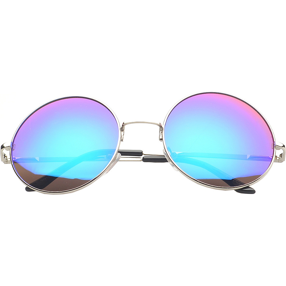 SW Global Eyewear Addison Round Fashion Sunglasses Purple - SW Global Sunglasses - Fashion Accessories, Sunglasses