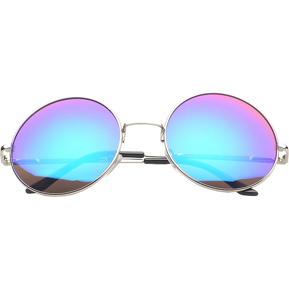 SW Global Eyewear Addison Round Fashion Sunglasses Purple SW Global Sunglasses
