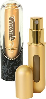 Travalo Excel Refillable Perfume Bottle Gold - Travalo Travel Health & Beauty