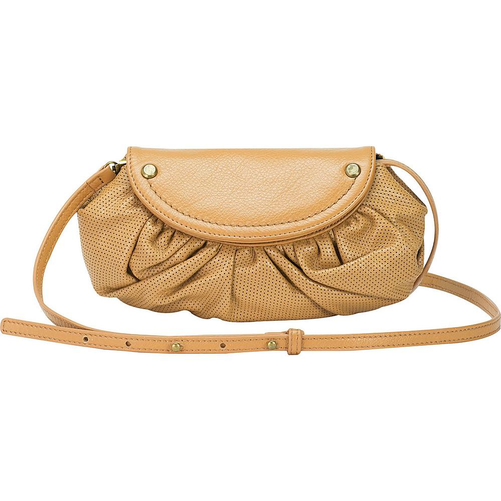 MOFE Bijou Crossbody Tan Brass Hardware MOFE Leather Handbags