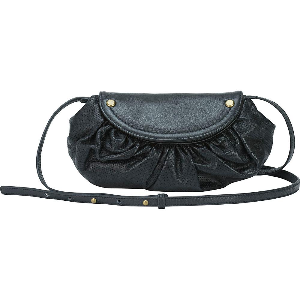 MOFE Bijou Crossbody Black Brass MOFE Leather Handbags