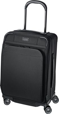 Hartmann Luggage Ratio Domestic Expandable Glider True Black - Hartmann Luggage Softside Carry-On