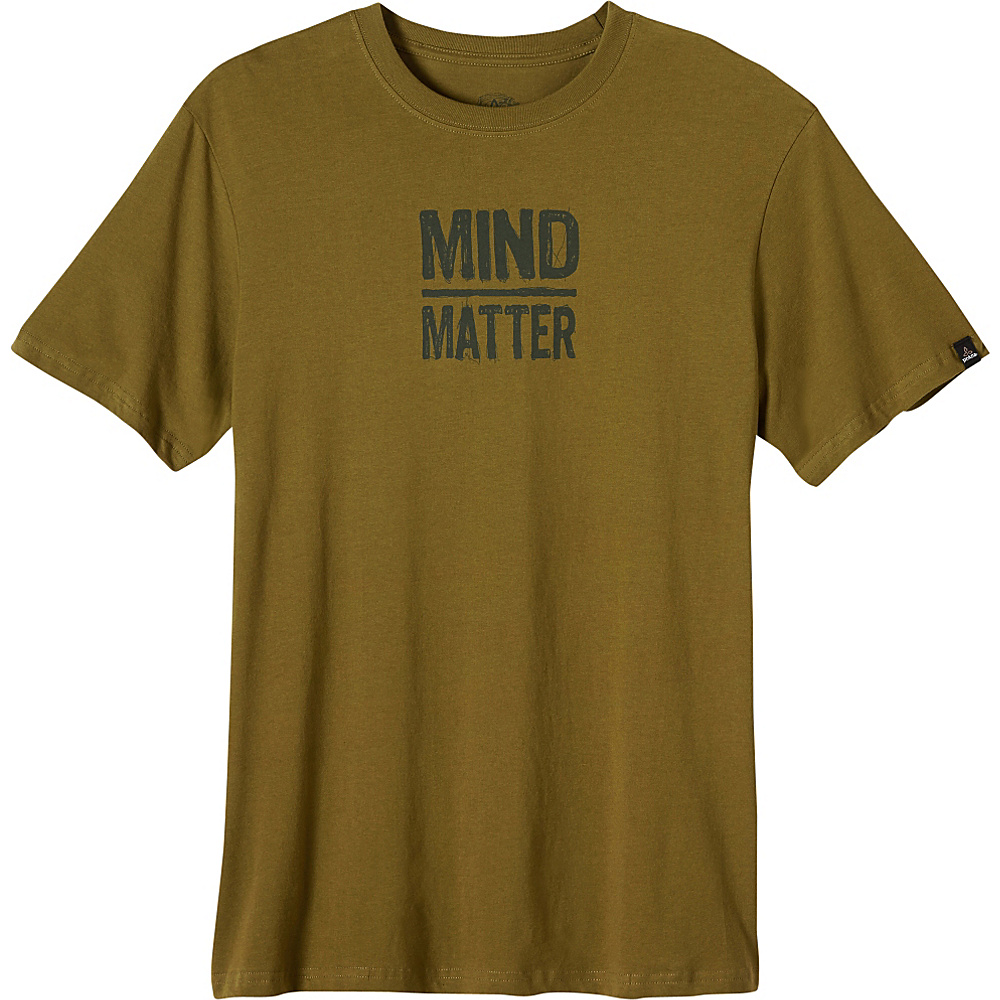 PrAna Mind/Matter Shirt S - Saguaro - PrAna Mens Apparel - Apparel & Footwear, Men's Apparel