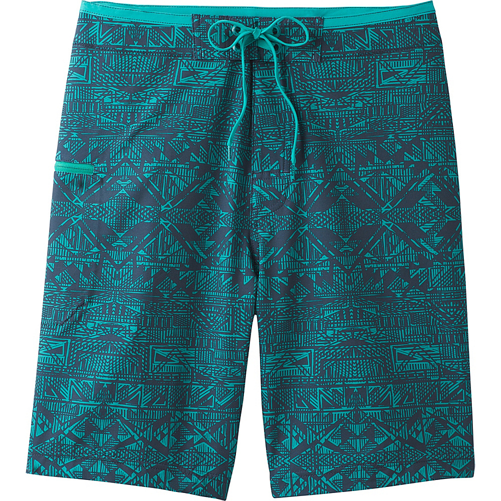 PrAna Catalyst Shorts 32 - Nautical Cabana - PrAna Mens Apparel - Apparel & Footwear, Men's Apparel