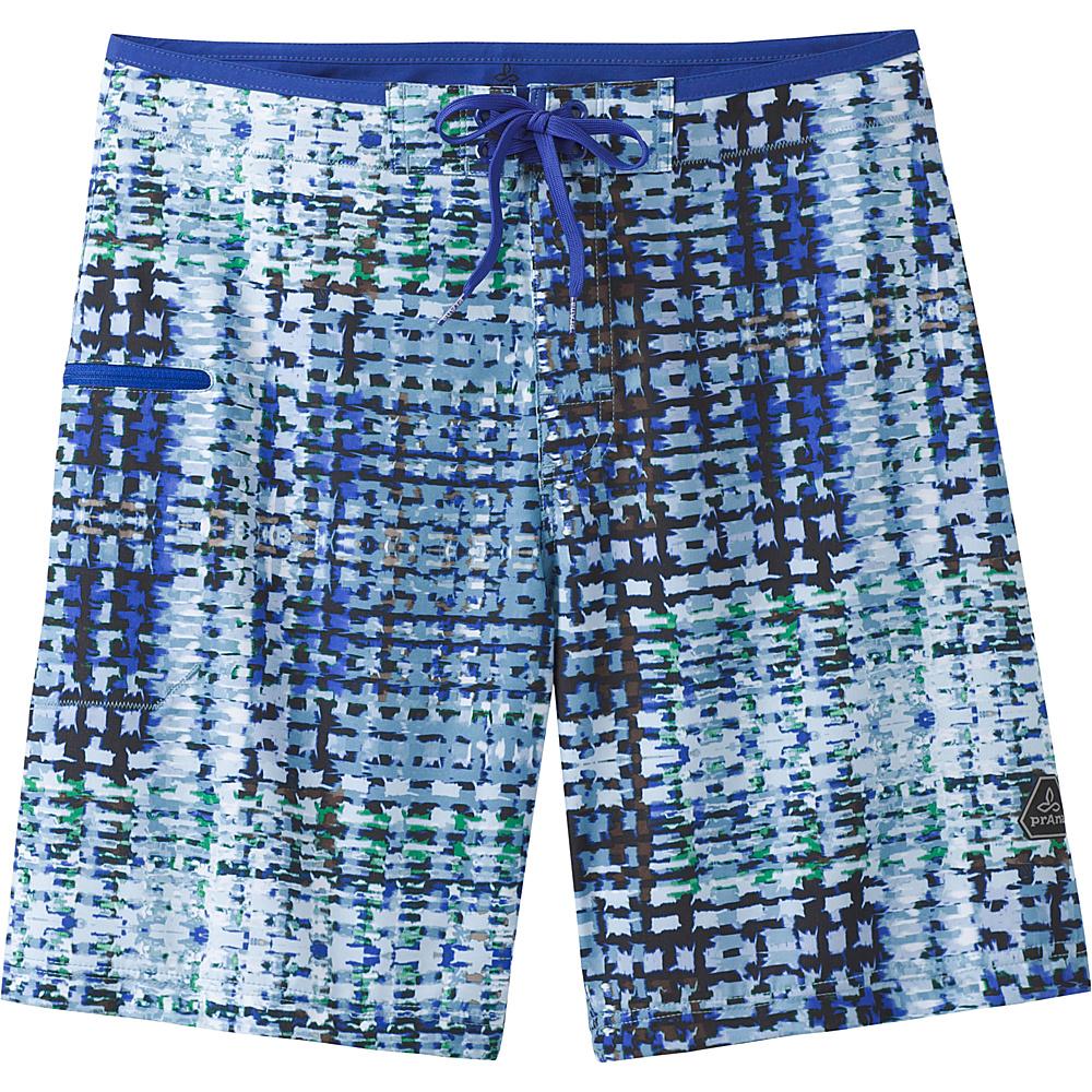 PrAna Catalyst Shorts 32 - Dusky Skies Ripple - PrAna Mens Apparel - Apparel & Footwear, Men's Apparel