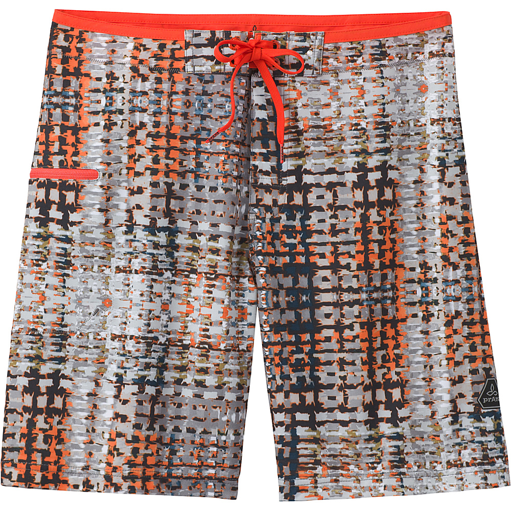 PrAna Catalyst Shorts 38 - Gravel Ripple - PrAna Mens Apparel - Apparel & Footwear, Men's Apparel