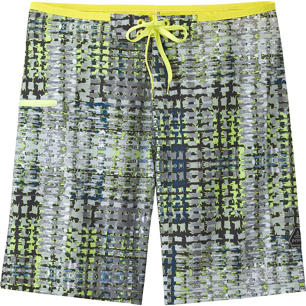 PrAna Catalyst Shorts 36 - Wild Sage Ripple - PrAna Mens Apparel - Apparel & Footwear, Men's Apparel
