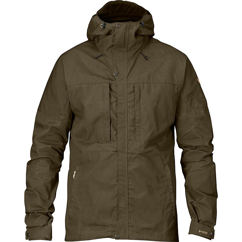 Fjallraven Skogso Jacket S - Dark Olive - Fjallraven Mens Apparel - Apparel & Footwear, Men's Apparel