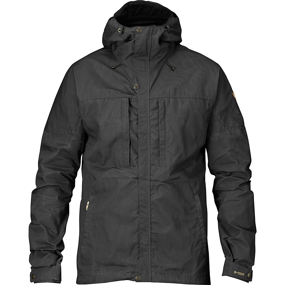 Fjallraven Skogso Jacket M - Dark Grey - Fjallraven Mens Apparel - Apparel & Footwear, Men's Apparel