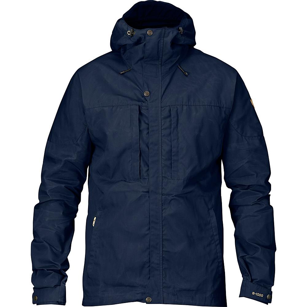 Fjallraven Skogso Jacket M - Dark Navy - Large - Fjallraven Mens Apparel - Apparel & Footwear, Men's Apparel