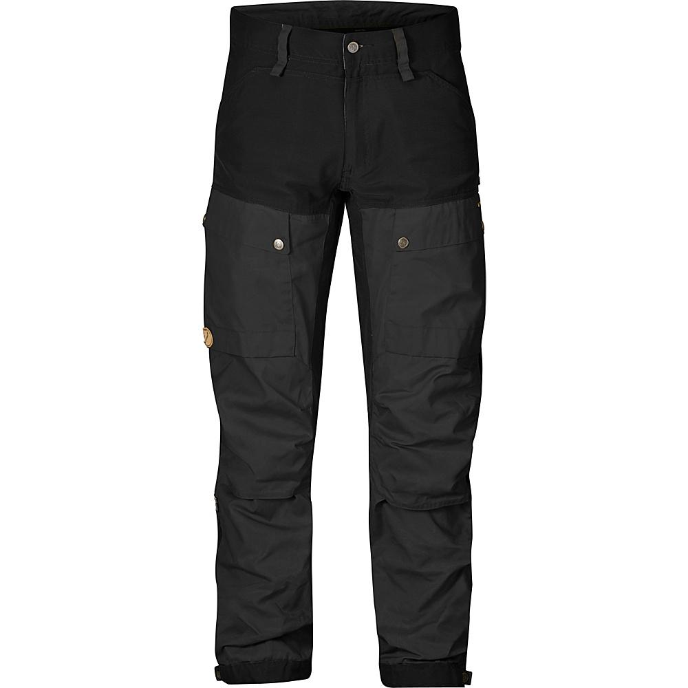 Fjallraven Keb Trousers Regular 58 - Black - 34 - Fjallraven Mens Apparel - Apparel & Footwear, Men's Apparel