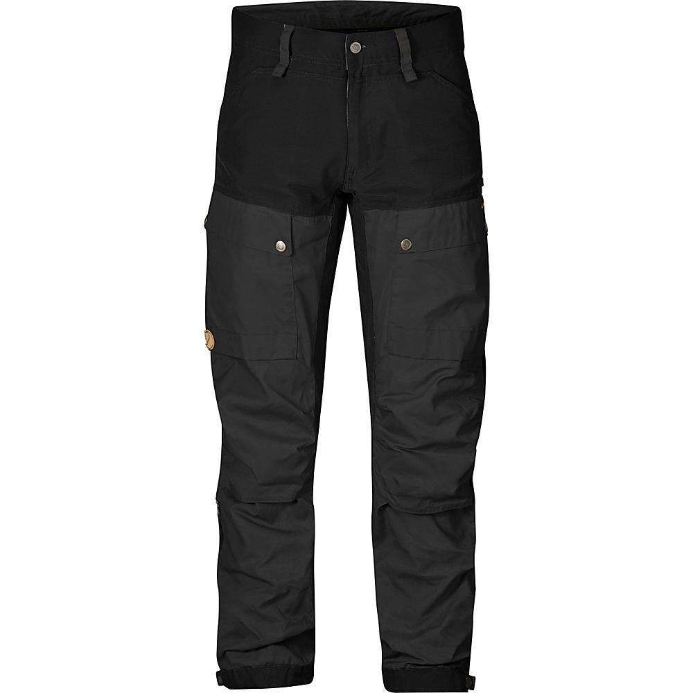 Fjallraven Keb Trousers Regular 60 - Black - 34 - Fjallraven Mens Apparel - Apparel & Footwear, Men's Apparel