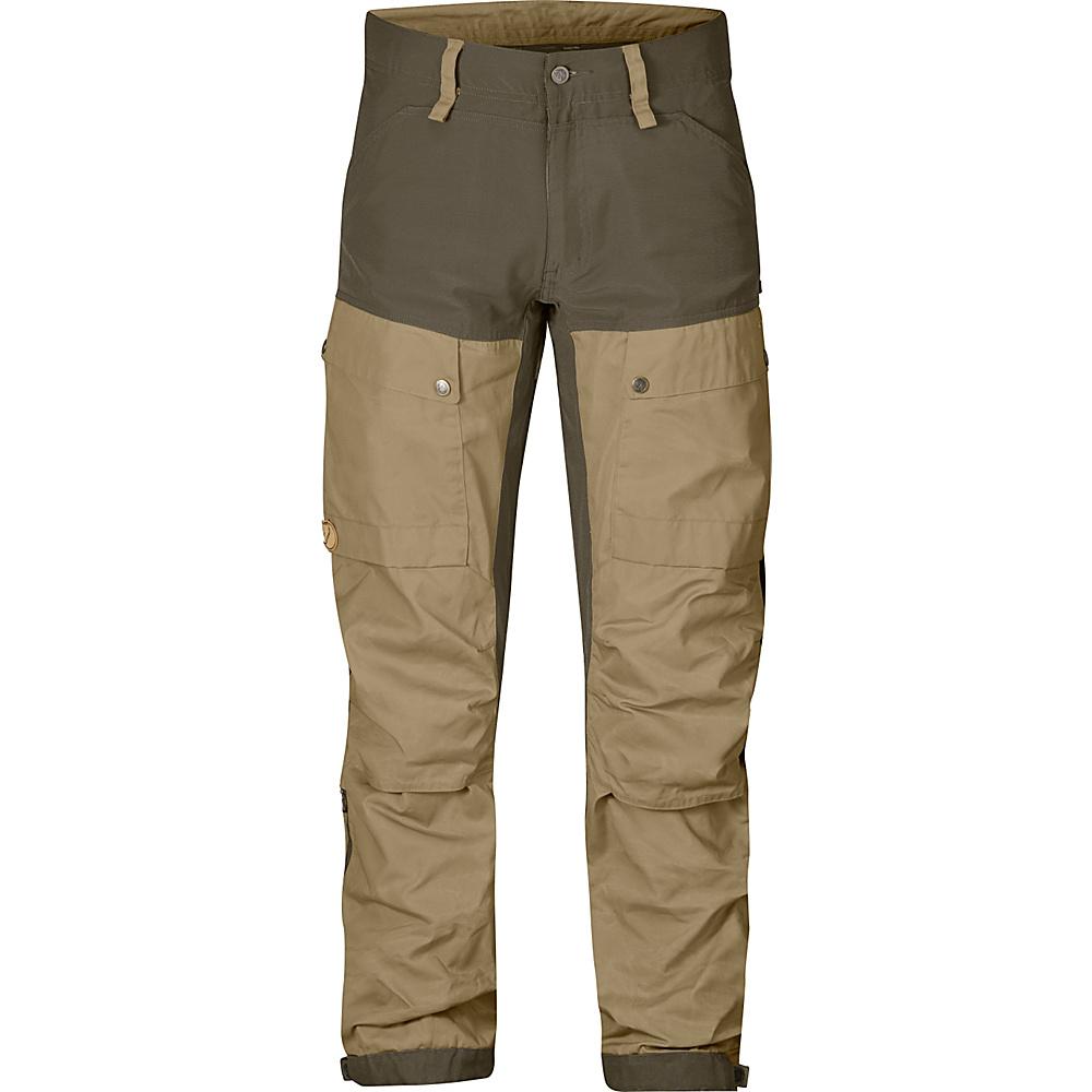 Fjallraven Keb Trousers Regular 54 - Sand - Fjallraven Mens Apparel - Apparel & Footwear, Men's Apparel