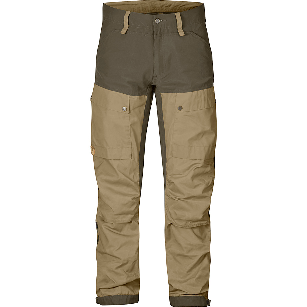 Fjallraven Keb Trousers Regular 56 - Sand - Fjallraven Mens Apparel - Apparel & Footwear, Men's Apparel