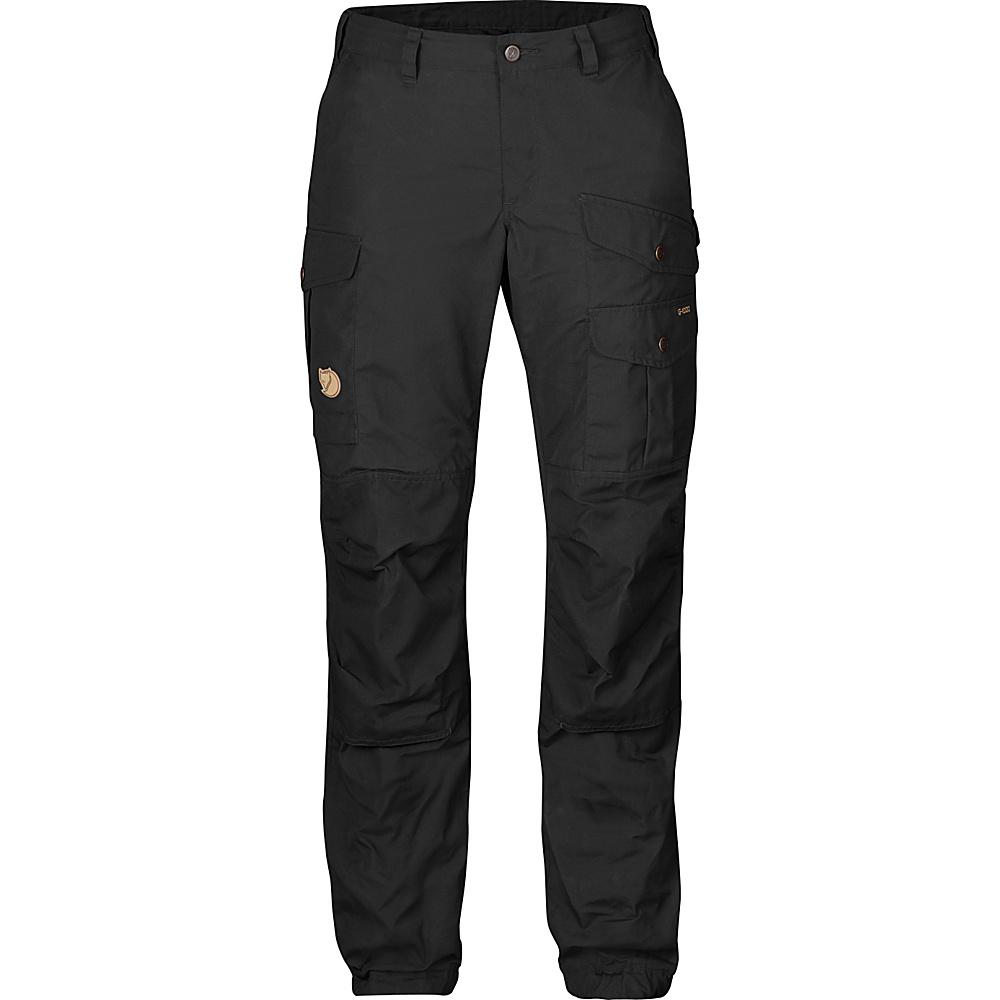 Fjallraven Womens Vidda Pro Trousers Short EU 36 (US Womens 6) - Black - 34 - Fjallraven Womens Apparel - Apparel & Footwear, Women's Apparel