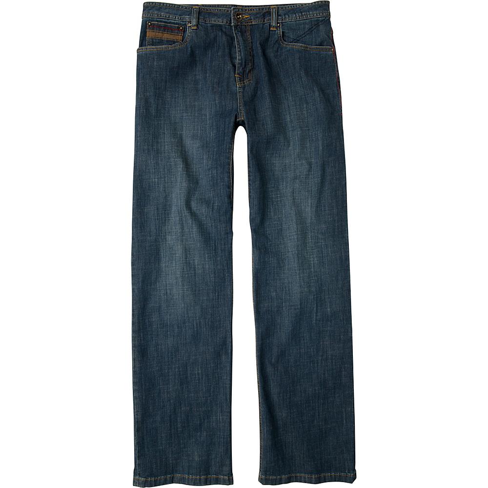 PrAna Axiom Jeans - 32 Inseam 34 - Antique Stone Wash - PrAna Mens Apparel - Apparel & Footwear, Men's Apparel