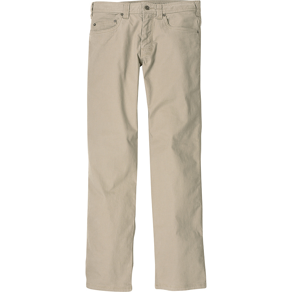 PrAna Bronson Pants - 34 Inseam 36 - Dark Khaki - PrAna Mens Apparel - Apparel & Footwear, Men's Apparel