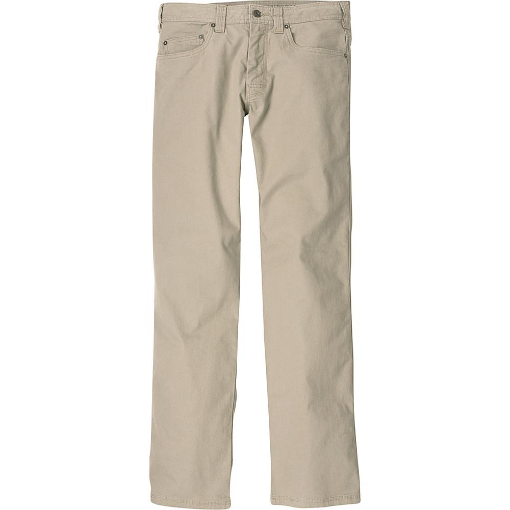 PrAna Bronson Pants - 34 Inseam 38 - Dark Khaki - PrAna Mens Apparel - Apparel & Footwear, Men's Apparel