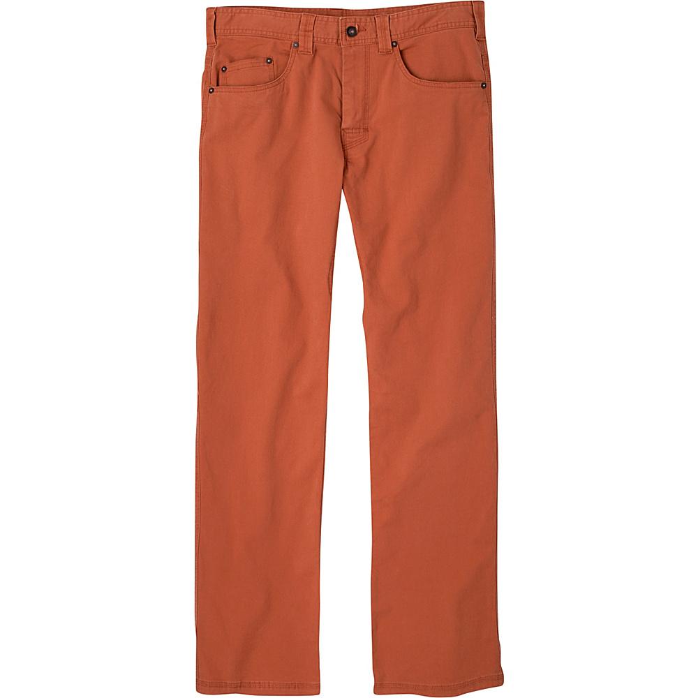 PrAna Bronson Pants - 34 Inseam 34 - Henna - PrAna Mens Apparel - Apparel & Footwear, Men's Apparel