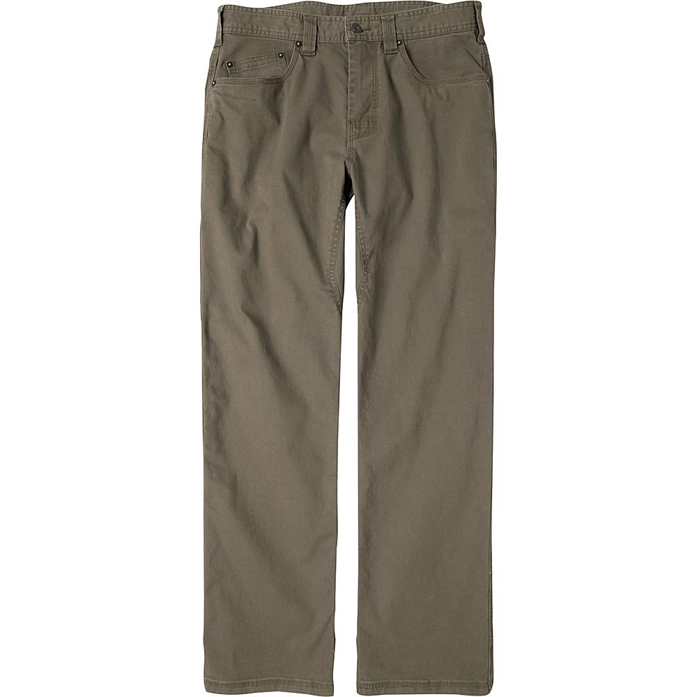 PrAna Bronson Pants - 34 Inseam 28 - Mud - PrAna Mens Apparel - Apparel & Footwear, Men's Apparel