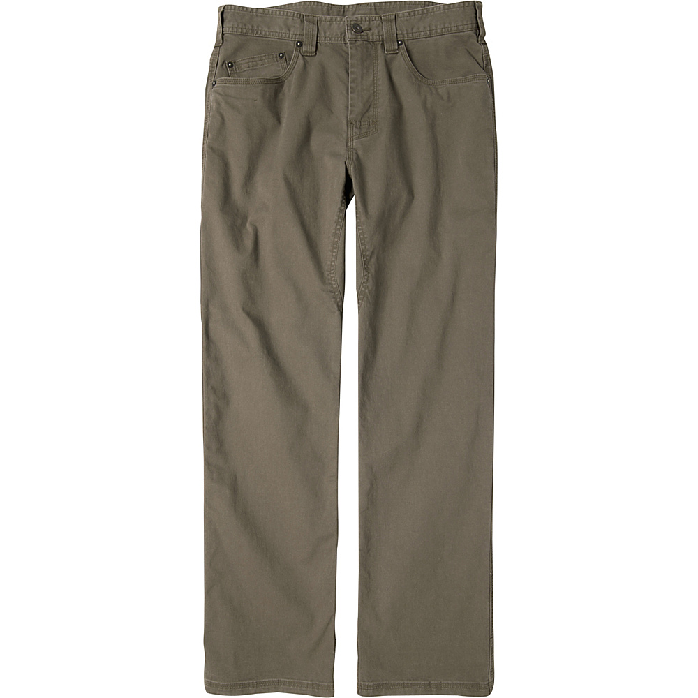 PrAna Bronson Pants - 34 Inseam 30 - Mud - PrAna Mens Apparel - Apparel & Footwear, Men's Apparel