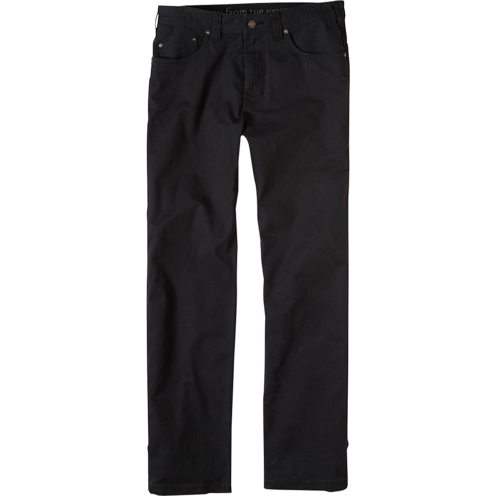 PrAna Bronson Pants - 34 Inseam 34 - Black - PrAna Mens Apparel - Apparel & Footwear, Men's Apparel