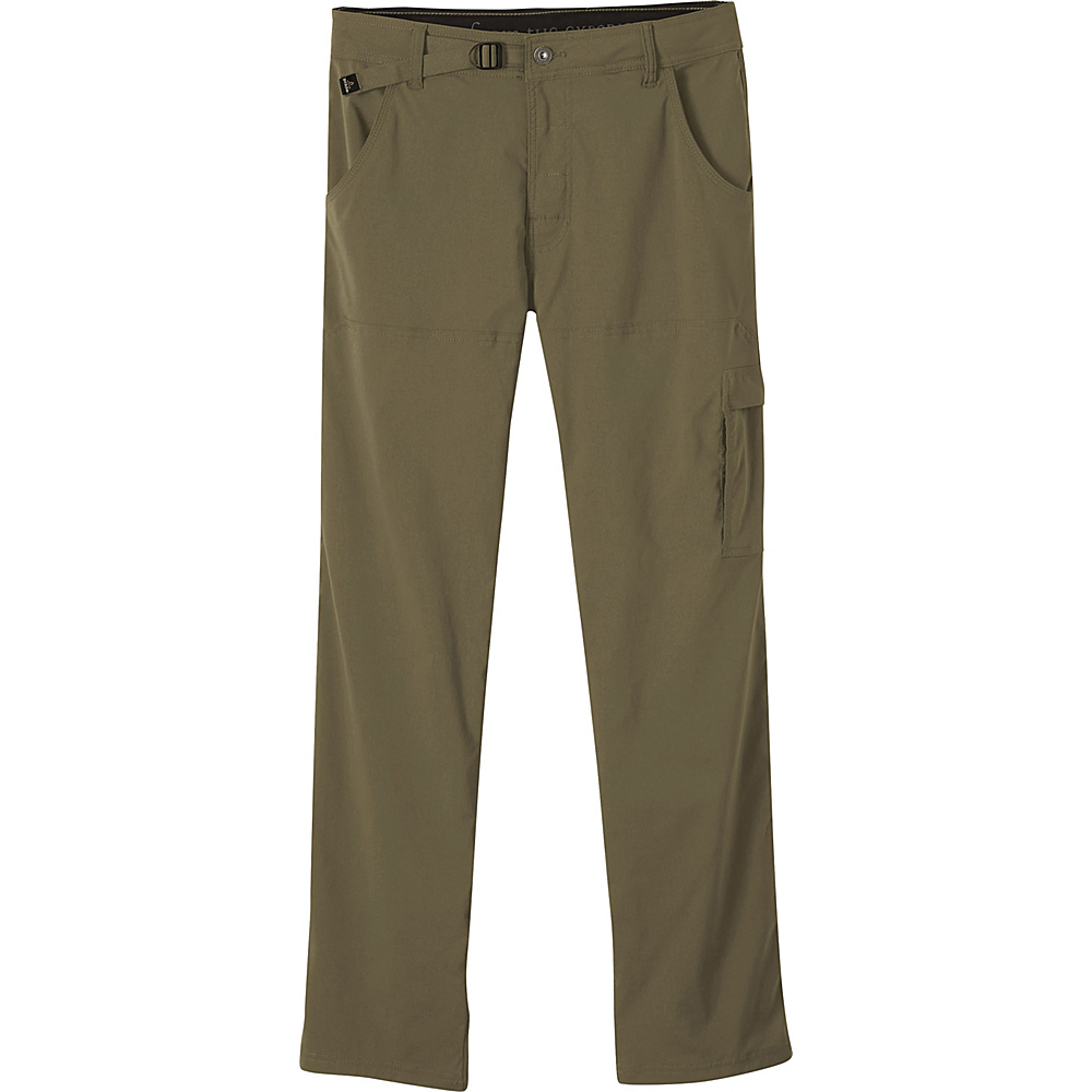 PrAna Stretch Zion Pants - 30 Inseam 34 - Cargo Green - PrAna Mens Apparel - Apparel & Footwear, Men's Apparel